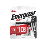 ENERGIZER MAX AA Battery 4'S