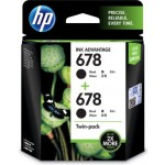 HP 678 TWIN PACK INK CART L0S23AA