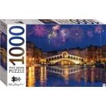 HINKLER JIGSAW PUZZLE  RIALTO BRIDGE VENICE ITALY 1000PCS