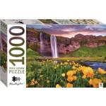 HINKLER JIGSAW PUZZLE Seljalandsfoss Iceland1000PCS