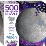 HINKLER SHAPED JIGSAW PUZZLE THE MOON 500PCS