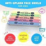 KENO KID PROTECTIVE FACE SHIELD PINK