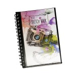 POP ARTZ SKETCH BOOK A5 125 GSM 60 SHEETS SKE-A5-8939