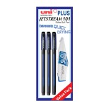 UNI Jetstream 101 Roller Ball Pen Value Pack 0.5mm Blue