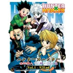 HUNTER X HUNTER 全职猎人HUNTER TV 版 + OVA 版VOL.1-92 END (6DVD)