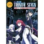 TRINITY SEVEN V1-12END+OVA+2MV (2DVD)