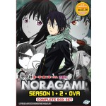 NORAGAMI SEASON 1 + 2 + OVA COMPLETE BOX SET 野良神  第一季+第二季+OVA 完整版   (3DVD)