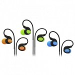 CLIPTEC BSE201 XTION-FIT SPORT EARPHONE ORANGE