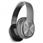 CLIPTEC BBH506 WIRELESS HEADPHONE GREY