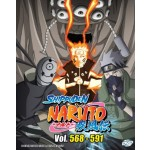 NARUTO SHIPPUDEN 火影忍者疾风传 VOL.568-591 BOX 19 (6 DVD)