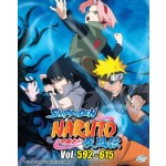 NARUTO SHIPPUDEN 火影忍者疾风传 VOL.592-615 BOX 20 (6 DVD)