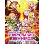 YUKI YUNA WILL BE A HERO S1+2+MV (5DVD)