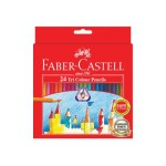 FABER-CASTELL TRI COLOUR PENCILS - 24 LONG