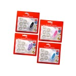 FABER-CASTELL CORRECTION TAPE 5MMX6M WITH 5PCS REFILL (RANDOM COLOR)