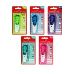 FABER-CASTELL ONE TOUCH CORRECTOR 5MM X 6M (RANDOM COLOR)