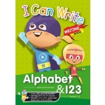 I CAN WRITE - WRITING BOOK: ALPHABET & 123