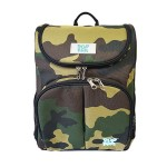 POP KIDS SCHOOL BAG - SCHOOLMATE ARMY GREEN