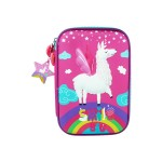 MULTI-FUNCTIONAL EVA DAZZLING ZIPPER CASE (BIG)- HORSE 9081-15