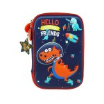 MULTI-FUNCTIONAL EVA DAZZLING ZIPPER CASE (BIG)- DINASOUR 9081-19