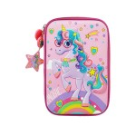 MULTI-FUNCTIONAL EVA DAZZLING ZIPPER CASE (BIG)- MAGIC UNICORN 9081-23