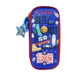 MULTI-FUNCTIONAL EVA DAZZLING ZIPPER CASE (SMALL)- SKATEBOARD 9080-20