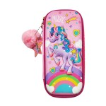 MULTI-FUNCTIONAL EVA DAZZLING ZIPPER CASE (SMALL)- MAGIC UNICORN 9080-22