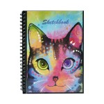 POP ARTZ SKETCH BOOK A4 125 GSM 60 SHEETS PA-POC60-CAT