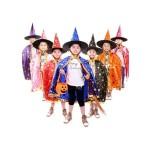 HALLOWEEN KIDS COSTUME CLOAK HAT SET