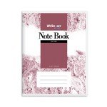 CAMPAP WRITE-ON PVC NOTE BOOK F5 70GSM 200 SHEETS
