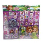 DISNEY SOFIA THE FIRST MEGA STICKER SET