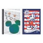 DISNEY MICKEY RETRO A5 SPOT UV NOTE BOOK 150S