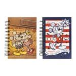 DISNEY MICKEY RETRO A6 SPOT UV NOTE BOOK 150S