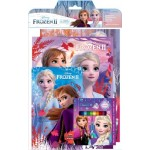 FROZEN 2 ACTIVITY & COLOURING BOOK SET(WITH STICKER PAD & COLOUR PENCILS)