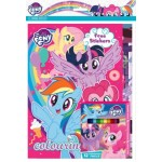 LITTLE PONY ACTIVITY & COLOURING BOOK SET (WITH STICKER & COLOUR PENCILS)