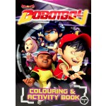 BOBOIBOY COLOURING VALUE PACK 2 (WITH COLOUR PENCILS)