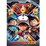 BOBOIBOY ACTIVITY & COLOURING BOOK SET (WITH STICKER & COLOUR PENCIL)