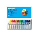 BUNCHO WATERCOLOUR 6CC - 12 COLOURS TUBE