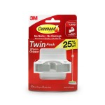3M COMMAND BROOM GRIPPER TWIN PACK