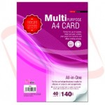 UNI S89 Multipurpose A4 Card 140gsm 40 sheets