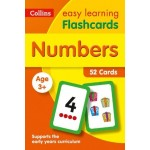 Easy Learning Numbers Flashcards: 52 Cards