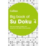 Collins Big Book Of Su Doku Book 4: 300 Su Doku Puzzles