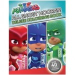 PJ MASKS DELUXE COLOURING BOOK