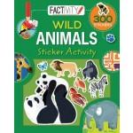 Factivity Balloon Sticker Activity Book: Wild Animals