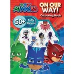 PJ Masks Puffy Sticker Book