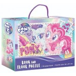 MY LITTLE PONY BOOK & FLOOR PUZZLE