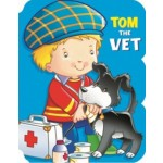 People Shaped Board: Tom the Vet