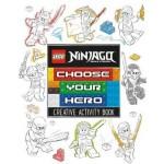 LEGO (R) Ninjago: Choose Your Hero Doodle Activity Book