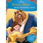 BUKU MEWARNA AJAIB BEAUTY & THE BEAST