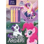 My Little Pony The Movie Friendship Adventure: With Over 30 Stickers