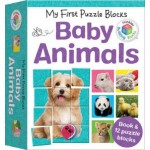 My First Puzzle Blocks: Baby Animals